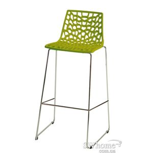 Барный стул GRANDSOLEIL Spider Зеленый