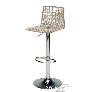 Барный стул с регулировкой GRANDSOLEIL Spider Бежевый