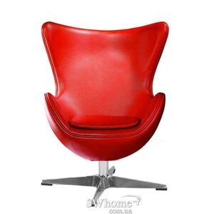 Кресло GSDM EGG (Эгг) Кожа Красный