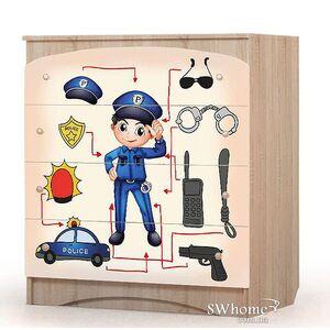 Комод пеленальный Вальтер Полиция Дуб сонома
