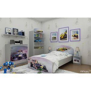 Кровать Вальтер Formula 1 Серый