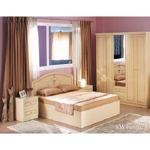 Двуспальная кровать Embawood Стелла Крем