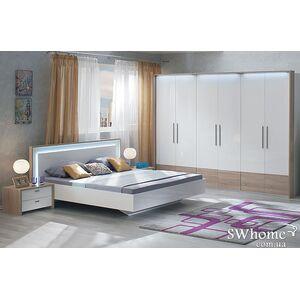 Двуспальная кровать Embawood Верона Белая