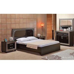 Двуспальная кровать Embawood Элизабет Черная