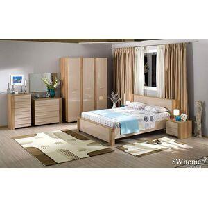 Двуспальная кровать Embawood Прага Орех