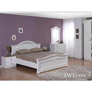 Двуспальная кровать Embawood Рената Белая
