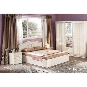 Двуспальная кровать Embawood Стелла Белая