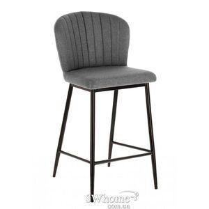 Барный стул La Forma Madge Серый