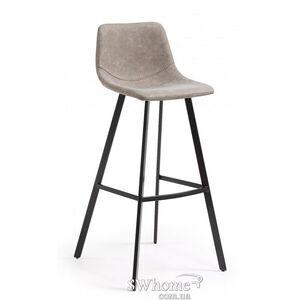 Барный стул La Forma ANDI Серо-коричневый