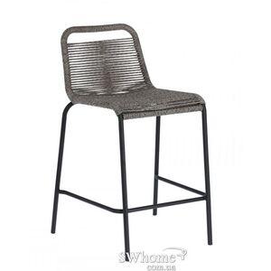 Полубарный стул La Forma GLENVILLE Серый