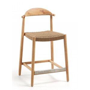 Полубарный стул La Forma GLYNIS Бежевый