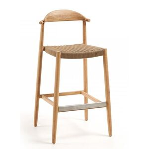 Барный стул La Forma GLYNIS Бежевый