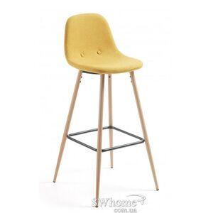 Барный стул La Forma NILSON Горчичный