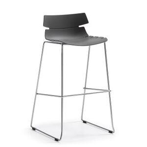 Барный стул La Forma Pulmak Серый