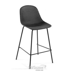 Барный стул La Forma Quinby Темно-серый