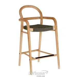 Барный стул La Forma SHERYL Серо-зеленый