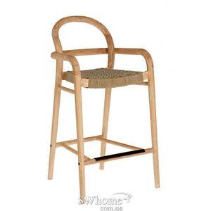 Полубарный стул  La Forma SHERYL Бежевый