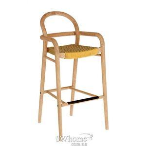 Барный стул La Forma SHERYL Горчичный