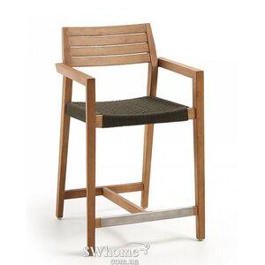 Полубарный стул La Forma THOR Темно-серый