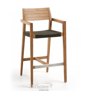 Барный стул La Forma THOR Темно-серый