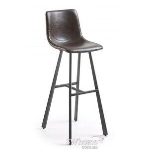 Барный стул La Forma TRAC Темно-коричневый