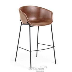 Полубарный стул La Forma ZADINE Коричневый
