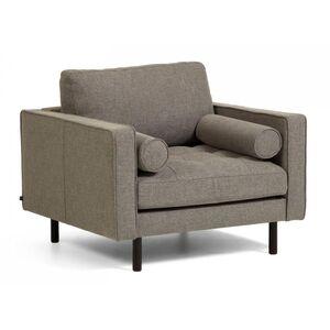 Кресло La Forma BOGART Серое S715PK03