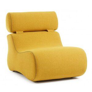 Кресло La Forma CLUB Желтое S442VA81