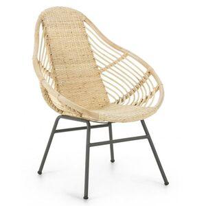 Кресло из ротанга La Forma COLLAGE CC0913FN46