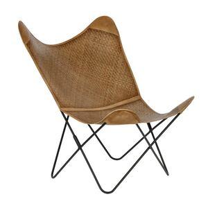 Кресло La Forma FLYNN Коричневое CC0352FN46