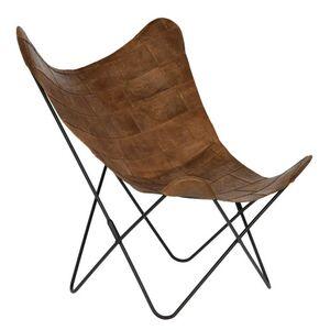 Кресло La Forma FLYNN Коричневое CC0352P10