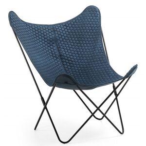 Кресло La Forma FLYNN Синее CC1086CWQ26