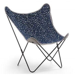 Кресло La Forma FLYNN Темно-синее CC1086TZ25