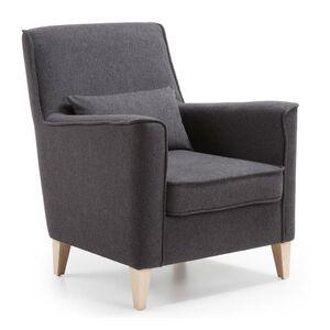 Кресло La Forma FYNA Темно-серое S418VA02