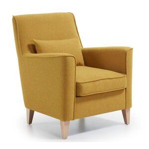 Кресло La Forma FYNA Горчичный S418VA81