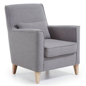 Кресло La Forma FYNA Серое S418VA03