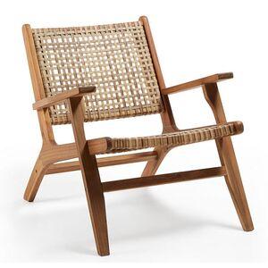 Кресло из ротанга La Forma GRIGNOON CC1059M46