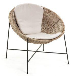Кресло из ротанга La Forma KATHRYN CC0815FN46