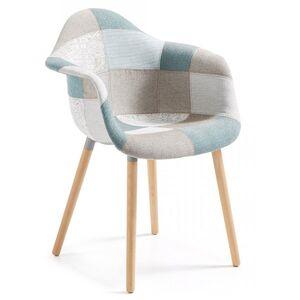 Кресло La Forma KENNA Голубое CC0234J26