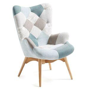 Кресло La Forma KNUT Голубое CC0235J26