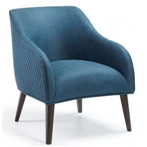 Кресло La Forma LOBBY Синее S480CWQ26