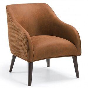 Кресло La Forma LOBBY Коричневое S480CWQ86