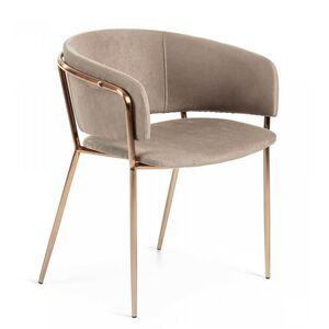 Кресло La Forma KONNIE Серо-коричневый