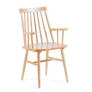 Кресло с подлокотниками La Forma KRISTIE Бук