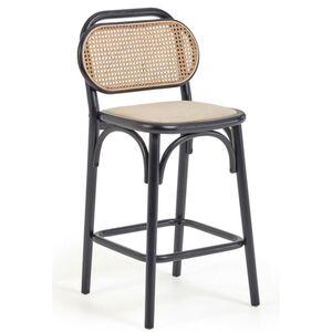 Барный стул La Forma Doriane Черный