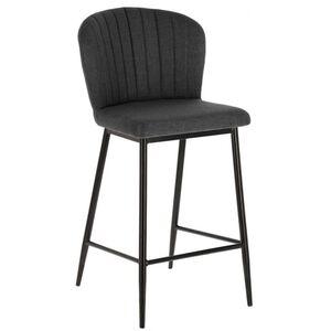 Барный стул La Forma Madge Темно-серый