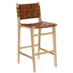 Барный стул La Forma Calixta Коричневый