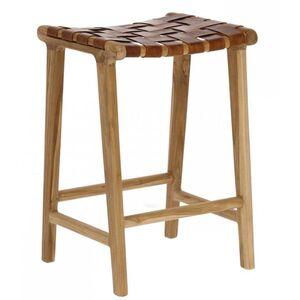 Барный стул La Forma Calixta Коричневый CC1948P10