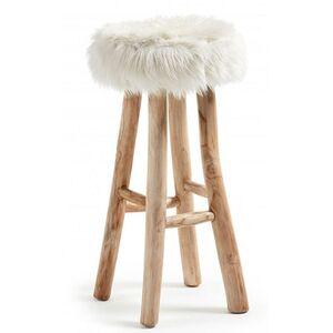 Барный стул La Forma Nuvoli Белый