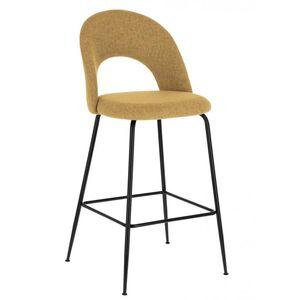 Барный стул La Forma Mahalia Желтый